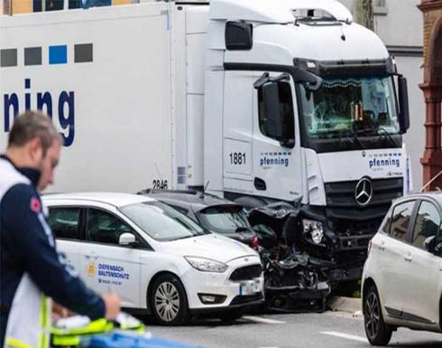لاجئ سوري سرق شاحنة في ألمانيا وجرح 19شخصاً