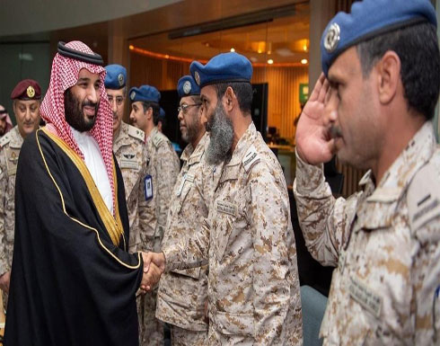 ولي العهد السعودي يطلع بالمنطقة الشمالية على الاستعداد القتالي