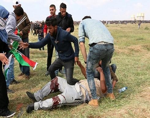"""اصابات برصاص الاحتلال في جمعة """"إسقاط الصفقة"""" على حدود غزة"""