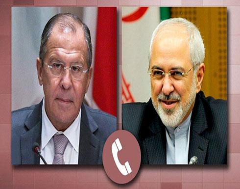 لافروف وظريف يؤكدان استعداد روسيا وإيران للإسهام في الحوار بين سوريا وتركيا