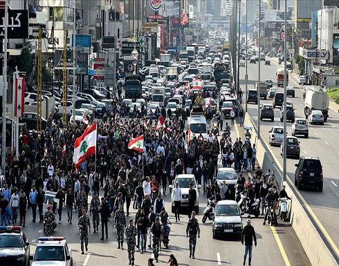 شاهد : 70 إصابة إثر مواجهات بين الأمن ومحتجين وسط بيروت