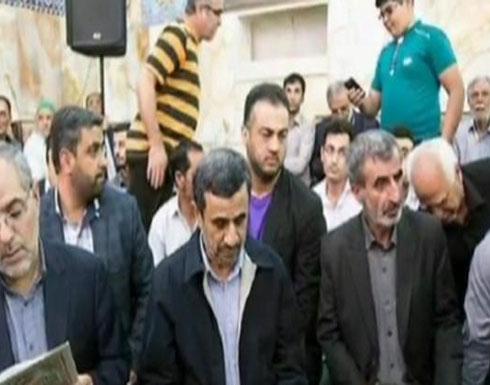 بالصور: سليماني ونجاد في تشييع قائد منظمة بدر الذي قتل بالفلوجة