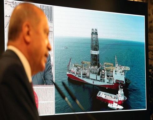 """أردوغان لميركل: سفينتنا """"أوروتش رئيس"""" لم تنه عملياتها في شرق المتوسط"""