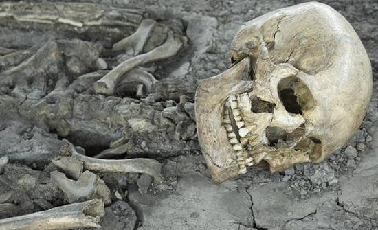 """العثور على """" جمجمة و عظام بشرية """" في عمان"""