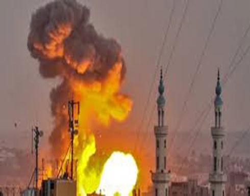 77c79d57183e6 جيش إسرائيل  هاجمنا 320 هدفا لـ