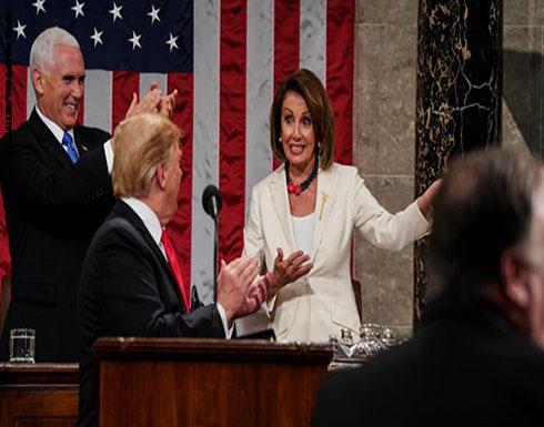 ترامب: بيلوسي فقدت صوابها