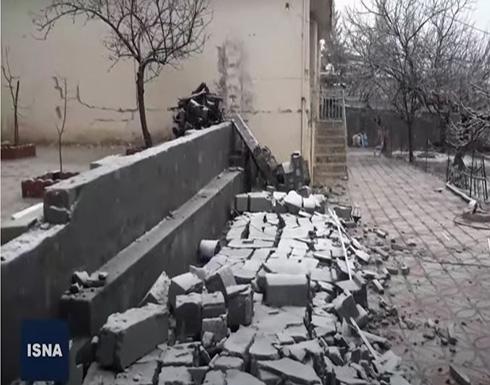 شاهد : الدمار الذي خلفه الزلزال جنوب إيران
