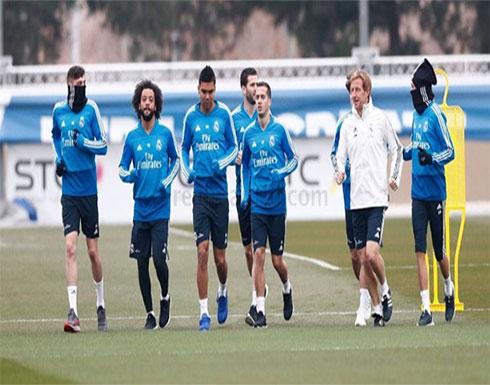ثلاثي ريال مدريد جاهز للمشاركة أمام خيتافي