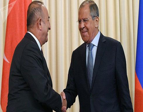 لافروف ونظيره التركي يبحثان هاتفيا التحضيرات لاجتماع أستانا حول سوريا