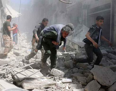 سوريا.. غارات للنظام وروسيا توقع قرابة 60 قتيلاً بحلب وحمص وإدلب