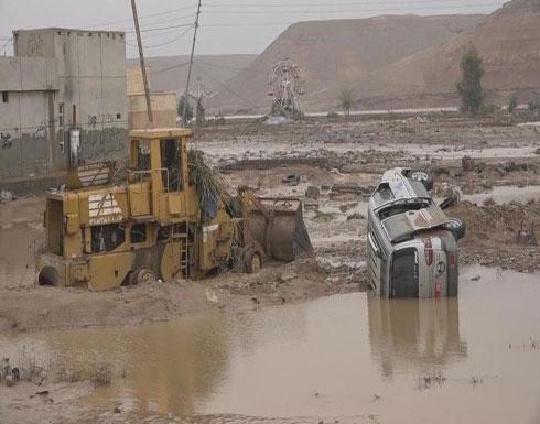 بعد غرق مناطق عراقية.. خلية أزمة لمواجهة السيول