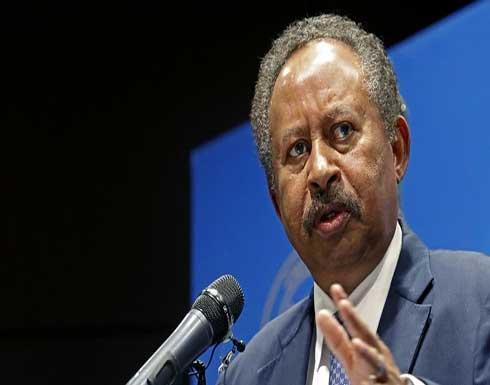 حمدوك: إجراءات صارمة لوقف أي شكل للفلتان الأمني في بورتسودان