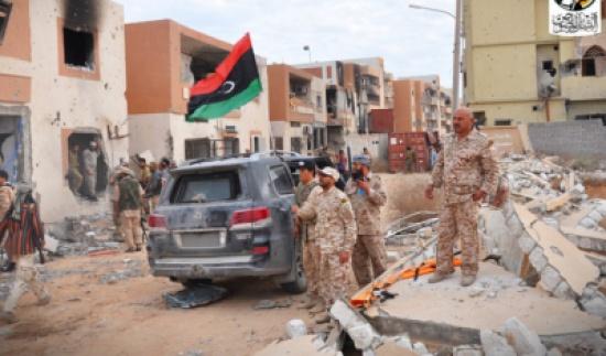 8 قتلى من قوات موالية لحكومة الوفاق الليبية في سرت