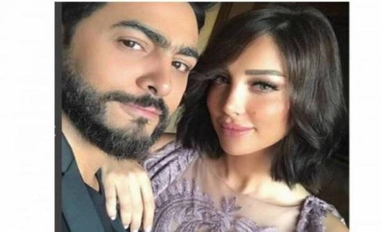 """بالفيديو – حبيبة تامر حسني السابقة في أقوى هجوم على بسمة بوسيل.. """"من الحمارة للطيارة"""" وتهديد بفضح رسائل من زوجها"""