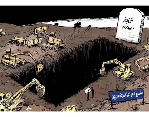 مشروع ضم الاراضي الفلسطينية