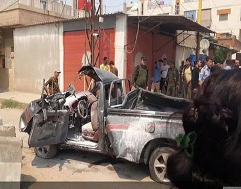 بالفيديو : سوريا.. 7 جرحى بتفجير انتحاري في القامشلي
