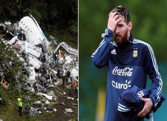 """ميسي ولاعبو الأرجنتين استقلوا طائرة """"شابيكوينسي"""" قبل أسبوعين"""