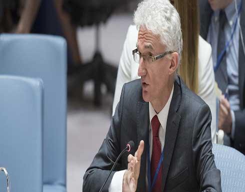 لوكوك : التصعيد في الأراضي الفلسطينية وإسرائيل تسبب في معاناة هائلة
