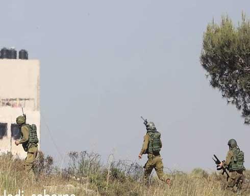 شاهد : لحظة هروب جنود الاحتلال بعد إطلاق النار عليهم في البيرة