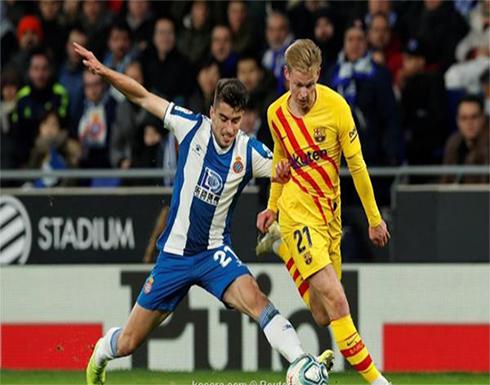 بالصور: برشلونة يتعثر بديربي كتالونيا ويتقاسم الصدارة مع ريال مدريد