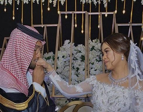 شاهدوا.. حفل زفاف مشاعل الشحي وأحمد خميس الثاني تسيطر عليه أجواء الترف والفخامة