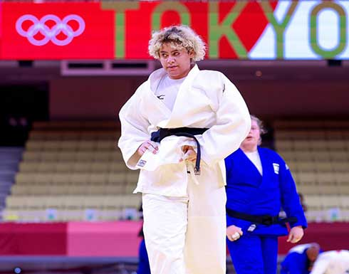 هزيمة لاعبة سعودية أمام منافستها الإسرائيلية في أولمبياد طوكيو