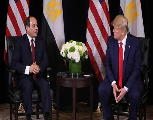 السيسي لترامب: التدخلات الأجنبية غير المشروعة في الشأن الليبي تزيد القضية تعقيدا وتصعيدا