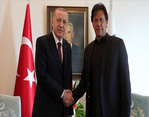 أردوغان وخان يبحثان الهجمات الإسرائيلية في فلسطين