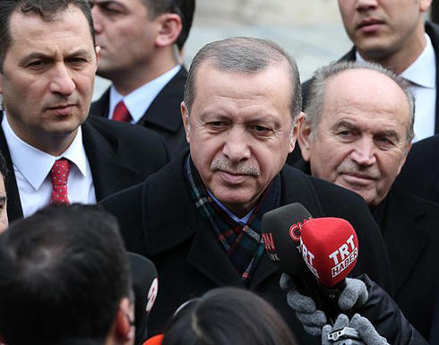 أردوغان: لن نسمح للقوات الروسية بالتموضع على حدودنا