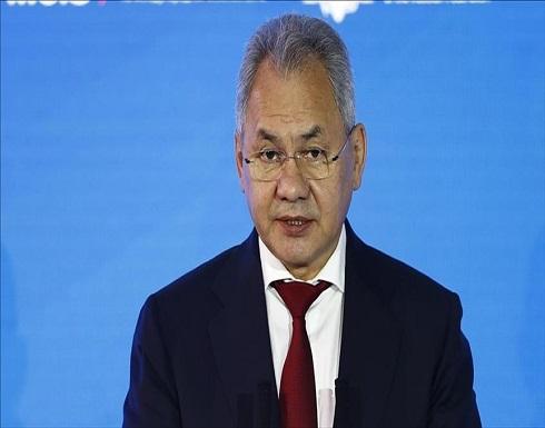 وزير الدفاع الروسي: جربنا أكثر من 320 نوع سلاح في سوريا