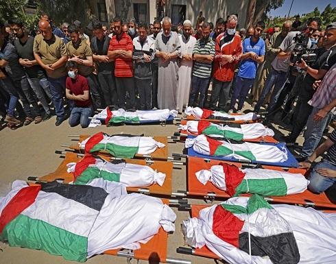 ارتفاع شهداء غزة إلى 145