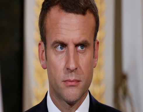ماكرون: لا أرى بديلا شرعيا للأسد في سوريا