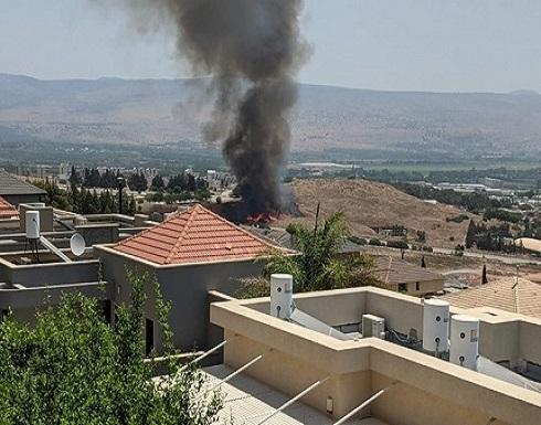 الاحتلال يقصف جنوب لبنان بعد سقوط صاروخين على مستوطنة