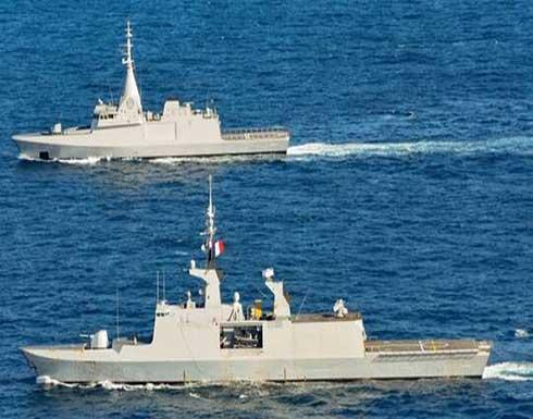 تمرين بحري مشترك للقوات المصرية والفرنسية .. صور