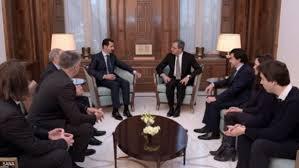 الأسد يكشف سر الوفد الفرنسي الذي زاره