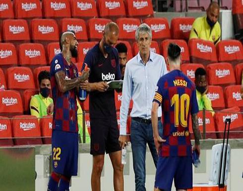 تقرير صحفي يكشف عن موعد تولي مدرب السد القطري تدريب برشلونة