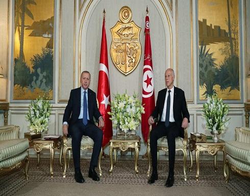 """تونس.. """"الحزب الدستوري"""" يطالب بجلسة برلمانية لمناقشة زيارة أردوغان"""