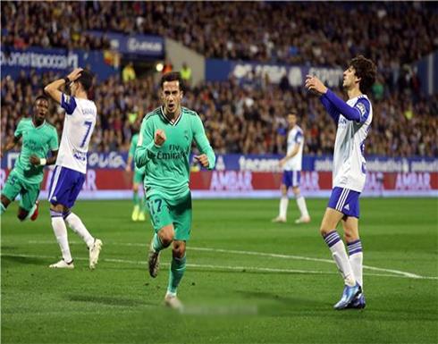 بالصور: ريال مدريد يسحق سرقسطة ويعبر لربع نهائي الكأس