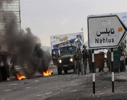 إصابات بمواجهات بين فلسطينيين وقوات الاحتلال شرقي نابلس