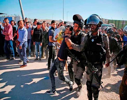 توتر في محيط البلدة القديمة في القدس بين فلسطينيين والإحتلال الإسرائيلي