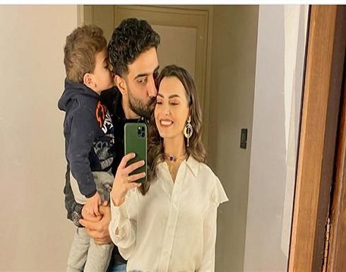 كارمن سليمان تعلق على قبلة زوجها