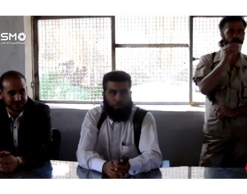بالفيديو : لحظة التفجير داخل مقر المعارضة السورية في  أنخل - درعا coobra.net