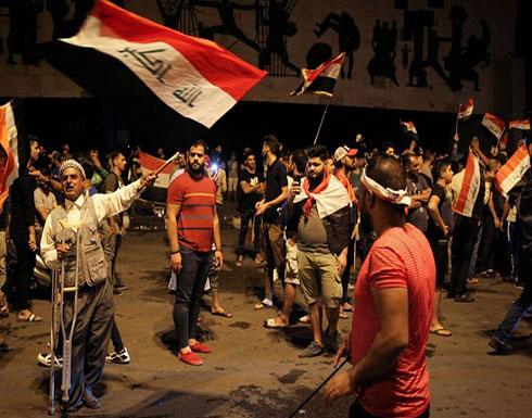 بالفيديو : قتيل وجرحى.. صدامات دامية قرب ساحة التحرير ببغداد