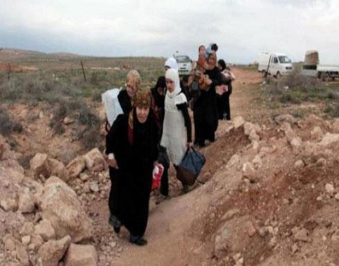 557 سوريا غادروا الاردن عبر معبر جابر
