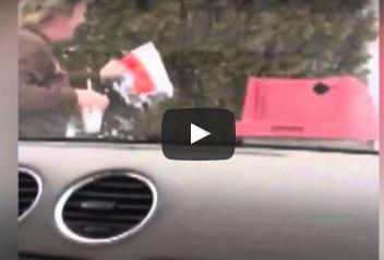 بالفيديو.. رد فعل امرأة قفز سنجاب في وجهها