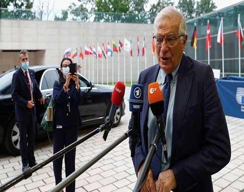 بوريل: أوروبا متمسكة برحيل المرتزقة ووقف النار في ليبيا