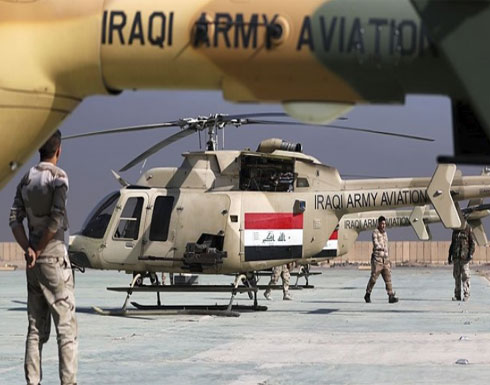 سقوط مروحية عسكرية عراقية ومصرع طاقمها