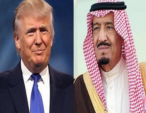 الملك سلمان وترمب يبحثان استقرار أسعار النفط