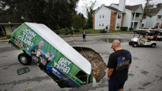 بالصور: شاهد آثار الدمار الهائل لإعصار إيرما في فلوريدا