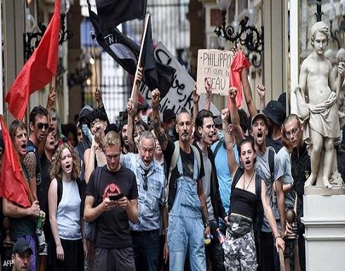 """فرنسا.. الآلاف يتظاهرون احتجاجا على """"التصاريح الصحية"""""""